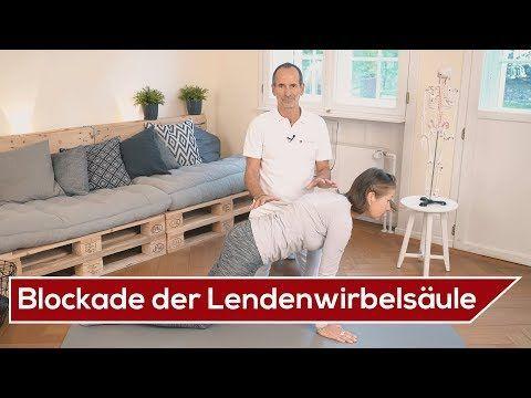 LWS Blockade selber lösen ⚡️ Effektive Übungen | Liebscher & Bracht | Lendenwirbelsäule - YouTube