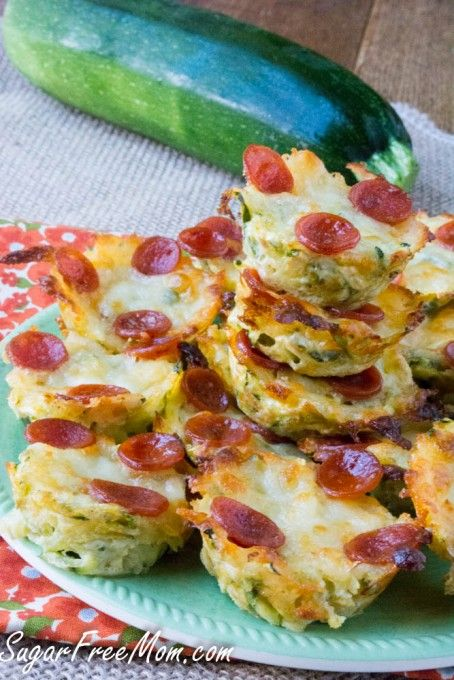 Zucchini Pizza Bites - look delicious and SO easy to make!