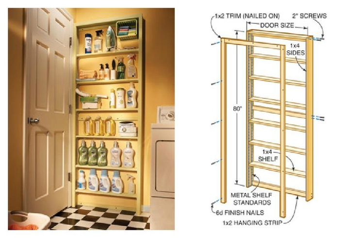 Shallow Open Pantry Shelves In Kitchen: 17 Best Images About Shallow Shelves On Pinterest