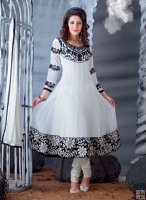 Indian Salwar Kameez Black & White Suits http://haveheartdaily.com