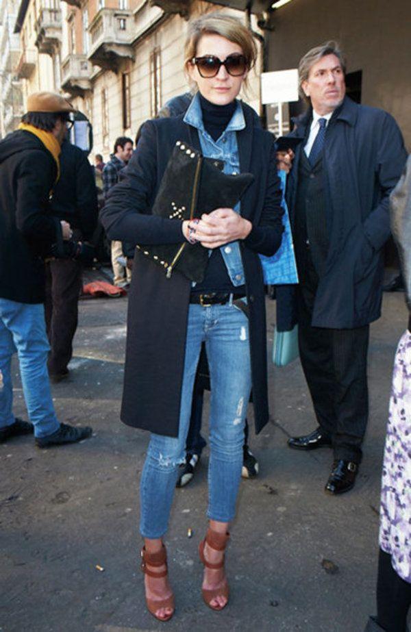 デニム on デニムにトレンチを合わせる上級者コーデ! 人気のおすすめトレンチコートコーデ一覧。レディースファッションまとめ。