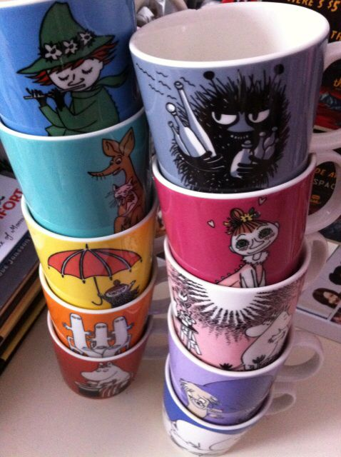 Moomin mugs arabia