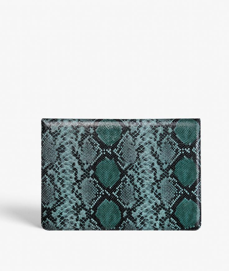 "MacBook Air 13"" Cover - Python Green Exclusive handcrafted leather cases for iPhone, iPad and MacBook from The Case Factory"