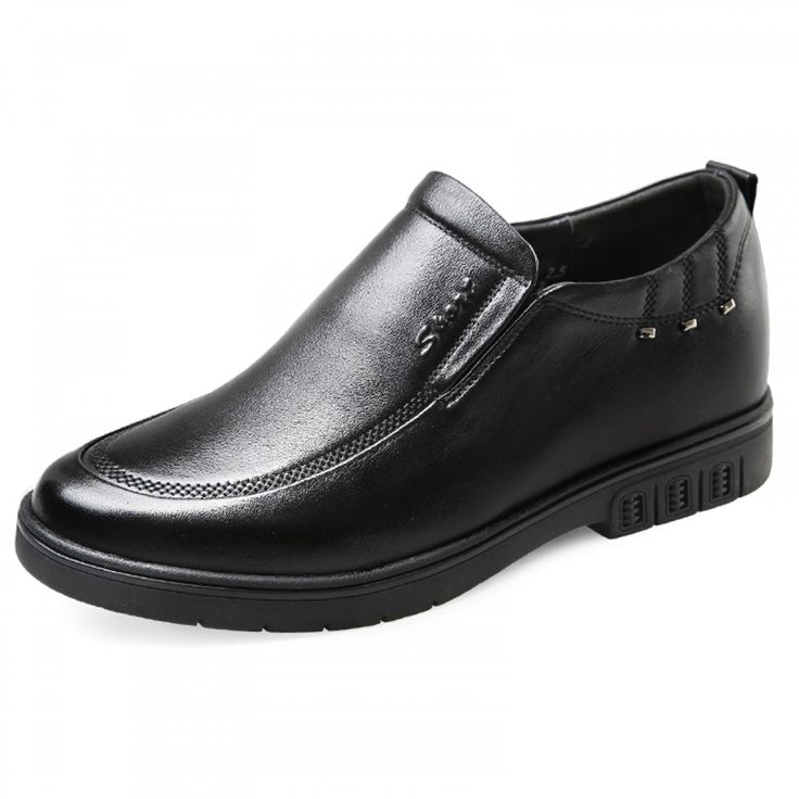 comfortable slip on casual dress loafers add height 2