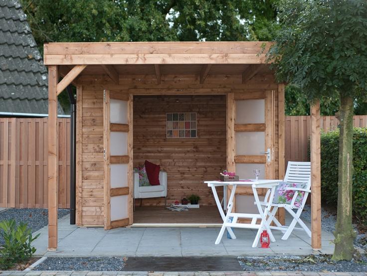 Infinity blokhut van Bear County; Stel zelf uw blokhut samen in 3 stappen - Maison et décoration - Jardinage - Bear County