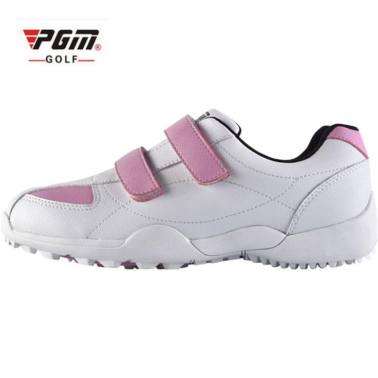 PGM Brand Adult Women  kids Golf Shoe Women Leisure Sport Sneaker Lady Waterproof Breathable Lightweight Golfing Shoes 2 Colors