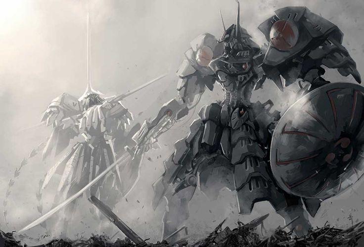 100467-1061x720-five+star+stories-tagme+(artist)-monochrome-battle-art-sword.jpg (1061×720)