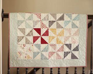 Free Pinwheel Baby Quilt Pattern