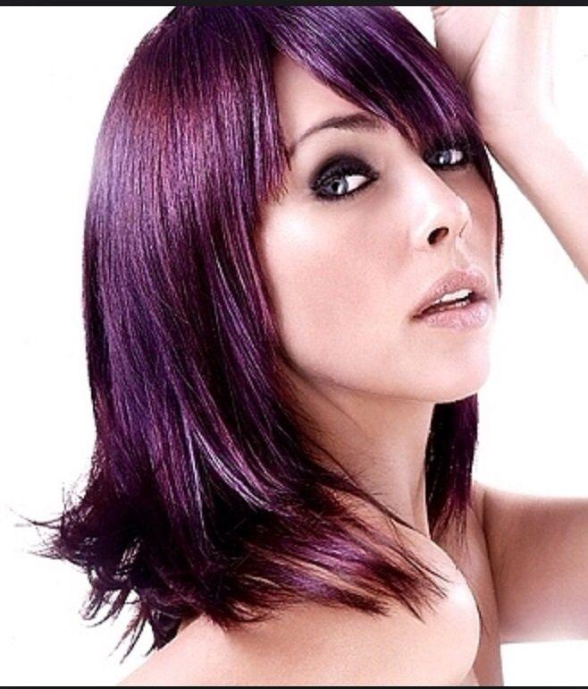 Dark Intense Violet Hair Purple Hair Hair Color Purple Hair