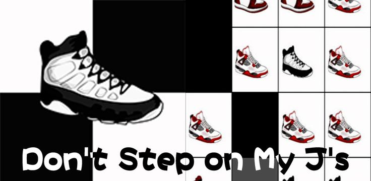 Don't Step on My J's is a free android mobile game.There are three features: Fun Fly Music 3 Awesome Game Modes Smooth Gameplay There are three modes in the gameplay:  Classic mode - tap 50 black boxes in super fast time! Arcade mode - tap the black boxes... as many as you can and do not miss one... its moving fast! Zen mode - tap the black boxes... as many as you can in 30 seconds! Download: www.mobilegamesbox.com