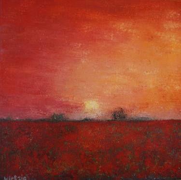 "Saatchi Art Artist Wietzie Gerber; Painting, ""Pavot"" #art"