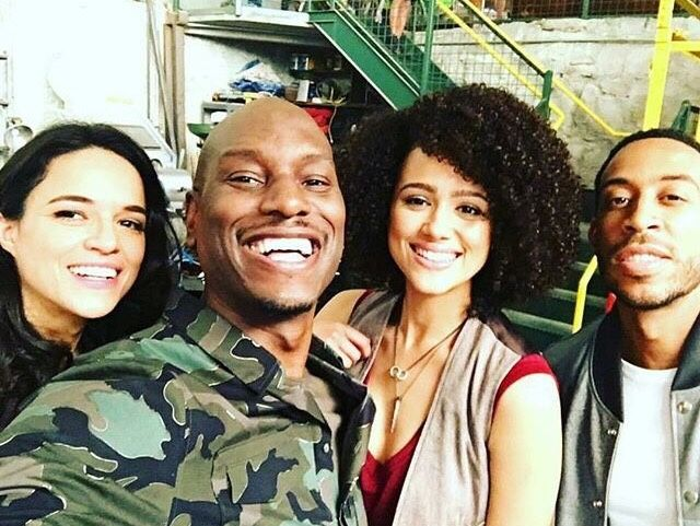 Fast 8 cast snap selfies while on set shooting - Eye Blog About.....Nothin'