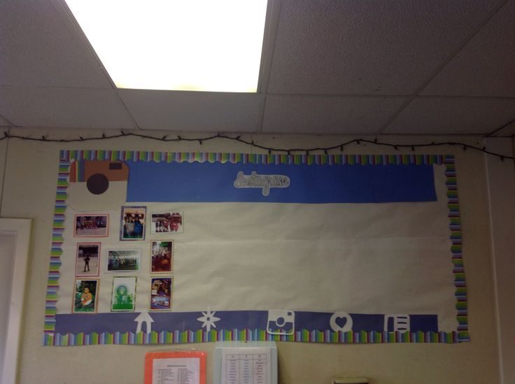 Classroom Decor Instagram ~ Best images about social media bulletin boards on