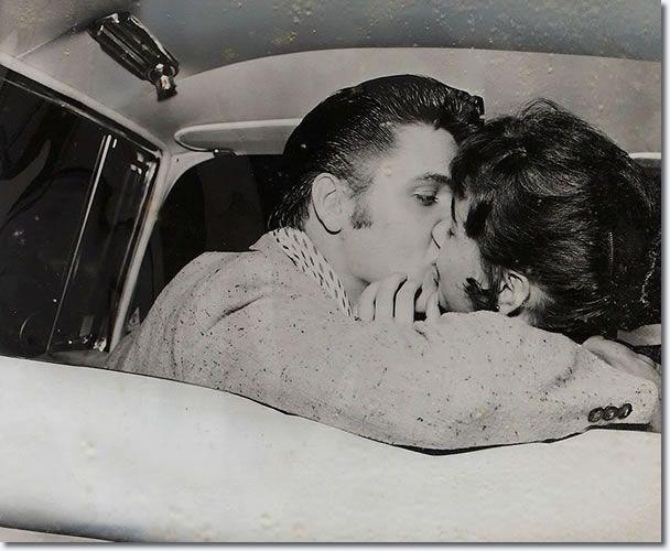 Elvis Presley and Barbara Hearn : June 19, 1956 : Fairgrounds Amusement Park, Memphis