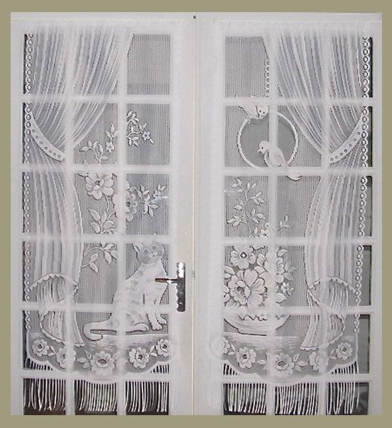 cat lace curtains french lace curtains french by