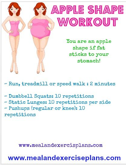The Best Exercise for an Apple Shaped Body   Livestrong.com
