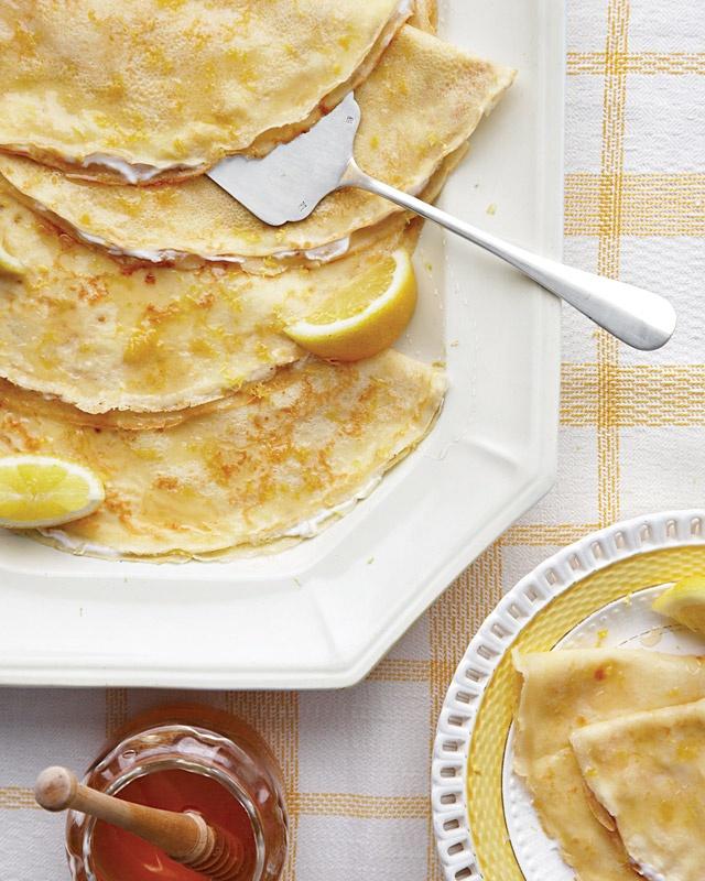 Lemon Crepes - Martha Stewart Recipes