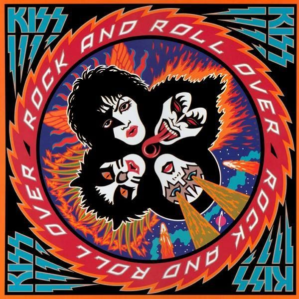 Kiss - Rock and Roll Over - 25 Greatest Hard Rock and Heavy Metal Album Covers Kiss Album Covers, Greatest Album Covers, Rock Album Covers, Classic Album Covers, Rock Roll, Kiss Rock And Roll, Cover Art, Lp Cover, Gene Simmons