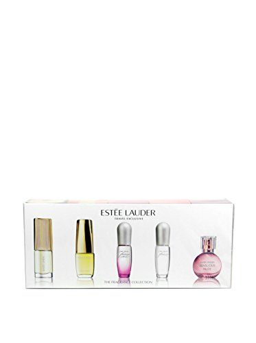 Estee Lauder The Fragrance Collection Variety 5 Piece Mini Gift Set for Women Estee Lauder http://www.amazon.com/dp/B00M2FB26M/ref=cm_sw_r_pi_dp_UIrxwb14AZWVE