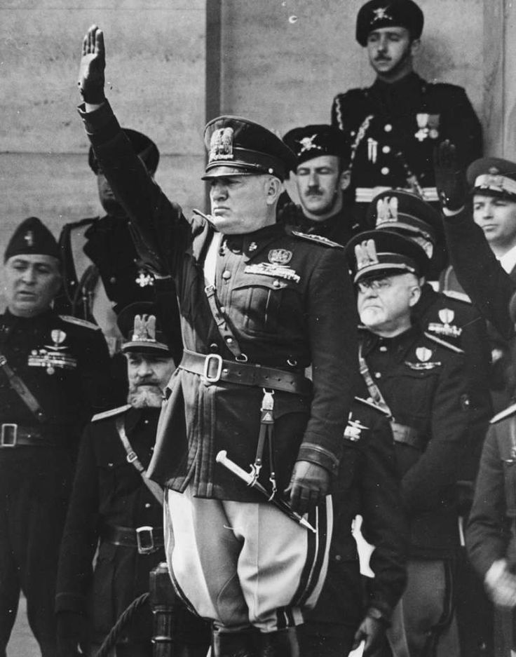 mussolini speech first person Mussolini established the first fascist regime, followed soon after by others, including nazi germany fascism, however, differed somewhat from one nation to another thus, scholars often disagree on a precise definition of fascism.