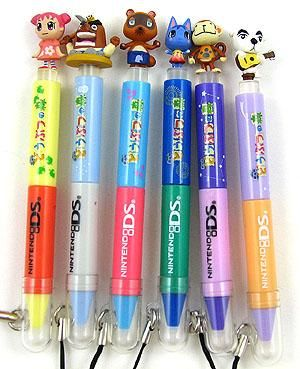 Animal Crossing touch pens (stylus) for DS/DSI/DSI XL     NEED!
