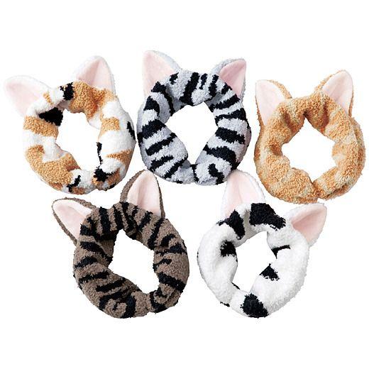 なりきりにゃんこ猫耳もふもふ ヘアターバン〈パート2〉の会 | フェリシモ