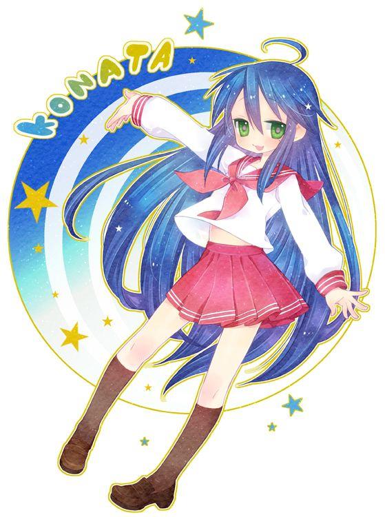 Tags: Anime, Fanart, Lucky☆Star, Izumi Konata, Pixiv ...