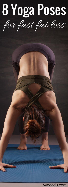Our top 8 yoga poses to melt fat //skinnymetea.com.au