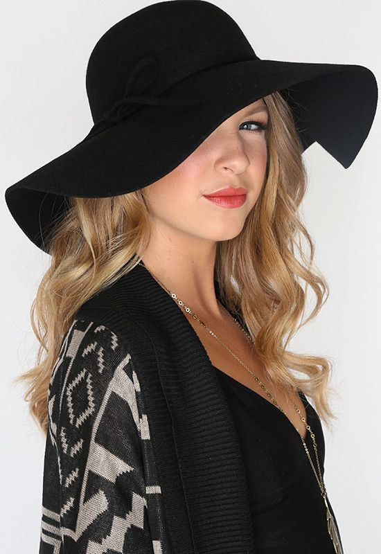 Conner's Wool Felt Floppy Hat is a great piece for any women's collection. It is lightweight yet will still give you great protection. It looks great with just about anything and it can go from day to evening wear without any problems.