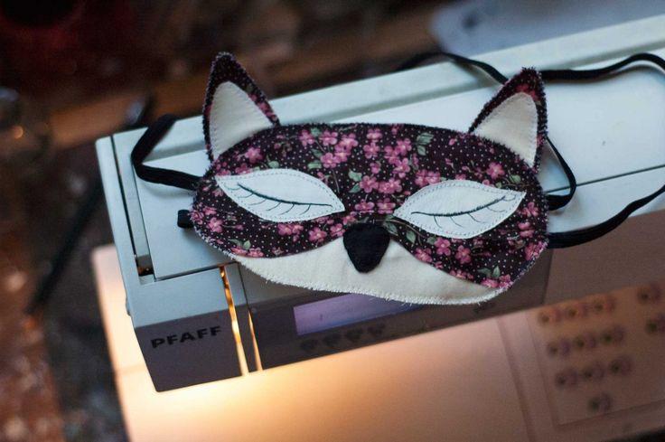 handmade sleepy mask