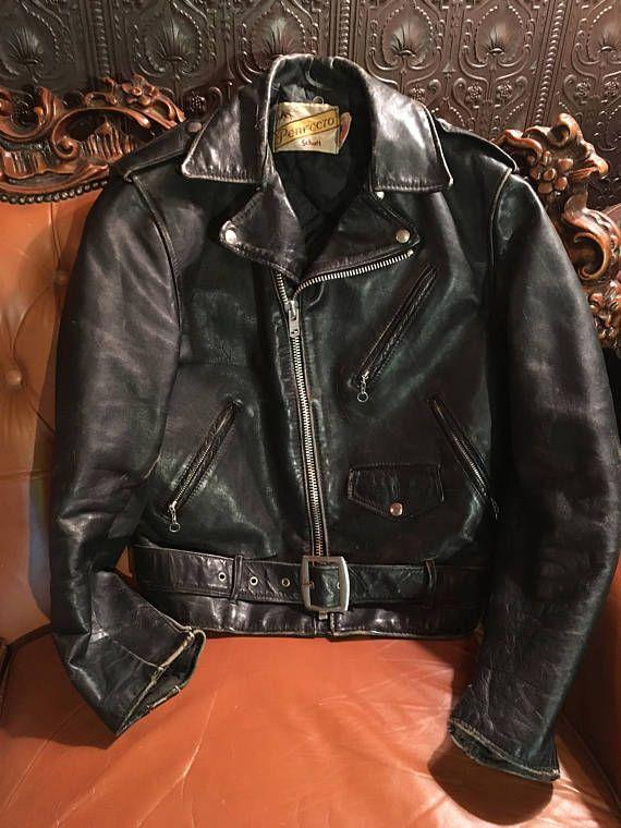 cf58814aa Resultado de imagen para schott vintage 70s 80s brown biker ...