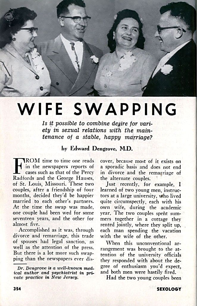 Swinger couple ads