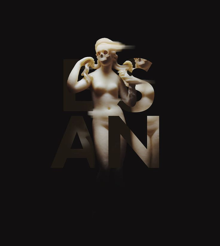 Glitched Sculptures & Typography – Fubiz Media