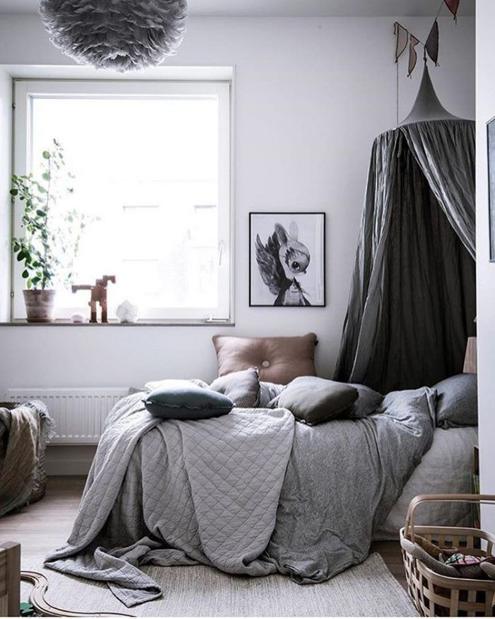 Gorgeous Gray Rooms (that will calm any kid at bedtime)
