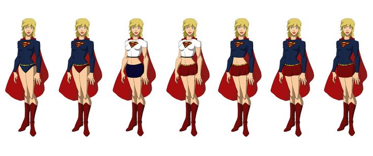 Super Girl / Power Girl, Young Justice Style by Majinlordx on ...