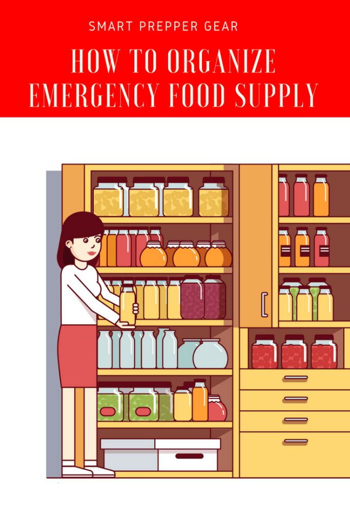 How to Organize Emergency Food Supply http://www.smartpreppergear.com/how-to-organize-emergency-food-supply-2/