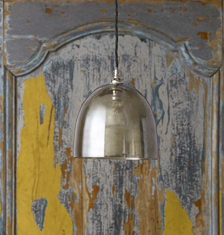 Made From Recycled Glass The Duomo Is A Safe And Effortlessly Beautiful Domed Pendant Light