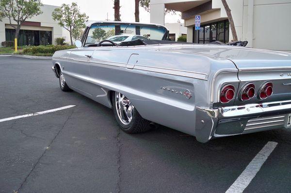 for sale 1964 chevrolet impala ss convertible more at hot rod hotline. Black Bedroom Furniture Sets. Home Design Ideas
