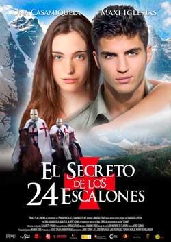 Sorteo de Entradas para ver el estreno de El secreto de los 24 Escalones en el Cine Vialia de Pontevedra.