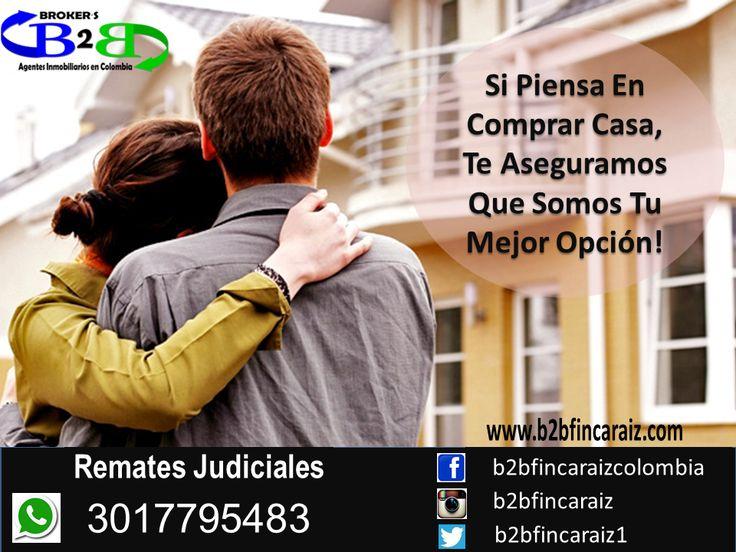 Remates Judiciales en Cartagena B2B Finca Raíz, Agentes Inmobiliarios en Colombia. Casas, Apartamentos, Locales Comerciales. www.b2bfincaraiz.com Cel: 3017795483. Estamos Para Servirte #FincaRaizCartagena