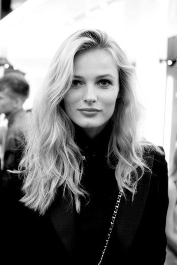 Edita Vilkeviciute - Her hair looks just like mine!