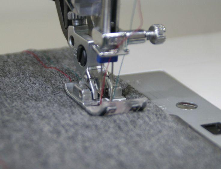 Get a perfect twin needle hem - MariaDenmark.com