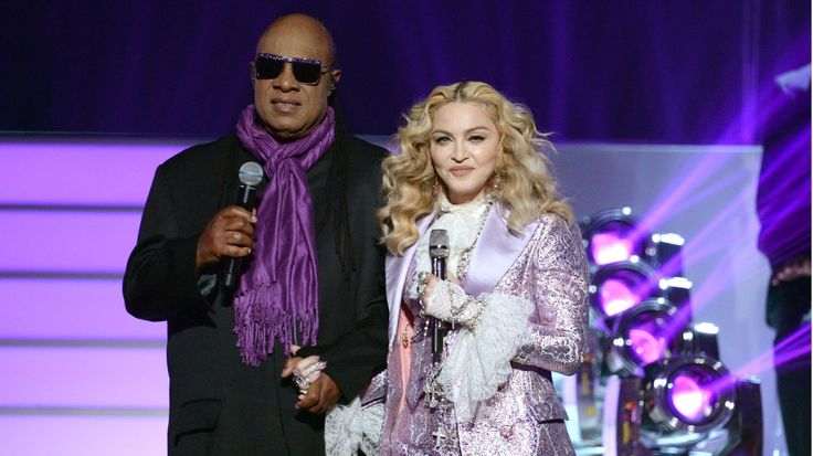 Madonna, Stevie Wonder Pay Tribute to Prince at Billboard Music Awards #headphones #music #headphones