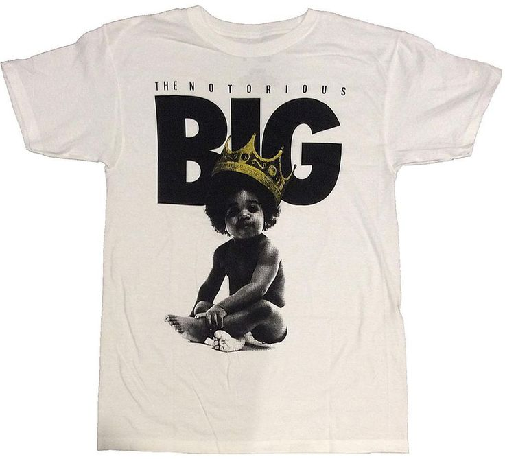 The Notorious BIG - Baby King Ready To Die / Brooklyn Mint T-Shirt /Sizes-M,L,XL #BrooklynMint #GraphicTee #HipHop