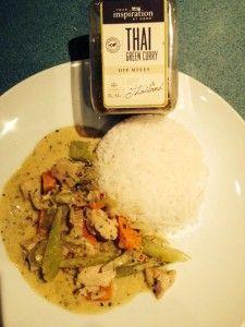 YIAH Thai Green Curry Dip Mix