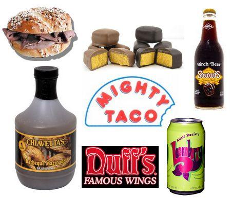 Upstate New York Food Specialties