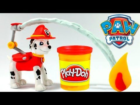 PAW PATROL CHASE STOP MOTION PLAY DOH Clay Paw Patrol Videos Patrulla Canina + Toy Videos - YouTube