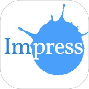 Impress: Printed Business Card, Flyer Maker Design by Storytree, Inc.