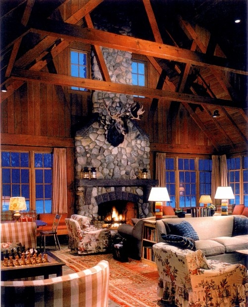 Cozy Rustic Living Room Fireplaces: 17 Best Images About Get Cozy On Pinterest