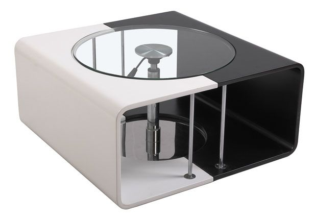 The Alina coffee table at first glance looks exactly like such: a modern, stylish yet simple coffee table.